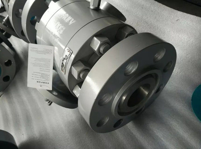 Split Body Construction Floating Ball Valve BSP NPT SW ANSI B 1.20.1 FB RB Intergral Seat